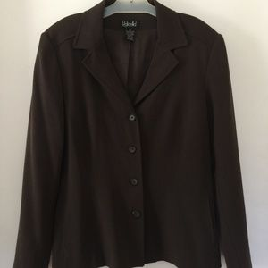 Rafaella Dark Brown Blazer